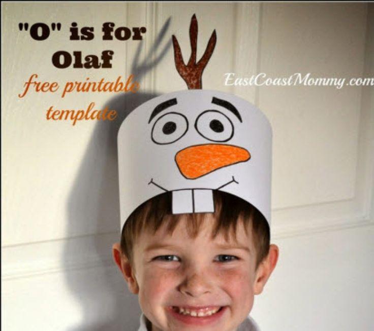 Réjouissez vos enfants avec ces 16 bricolages autour d'Olaf de la Reine des Neiges …