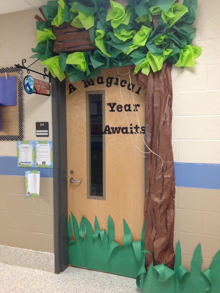 tree door surround classroom displays - Yahoo Image Search results