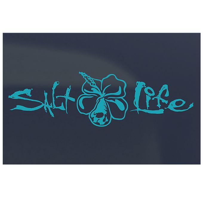 Salt Life - Medium Stickers / Decals - Signature Hibiscus. Need this for my car!