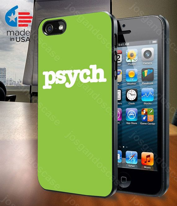 Psych for iPhone 4/4S 5/5S and Samsung Galaxy by josgandoscase, $14.79