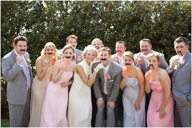Photo Booth Fun: Top 5 Props that Will Make Your After-Party a Hit | Mine Forever