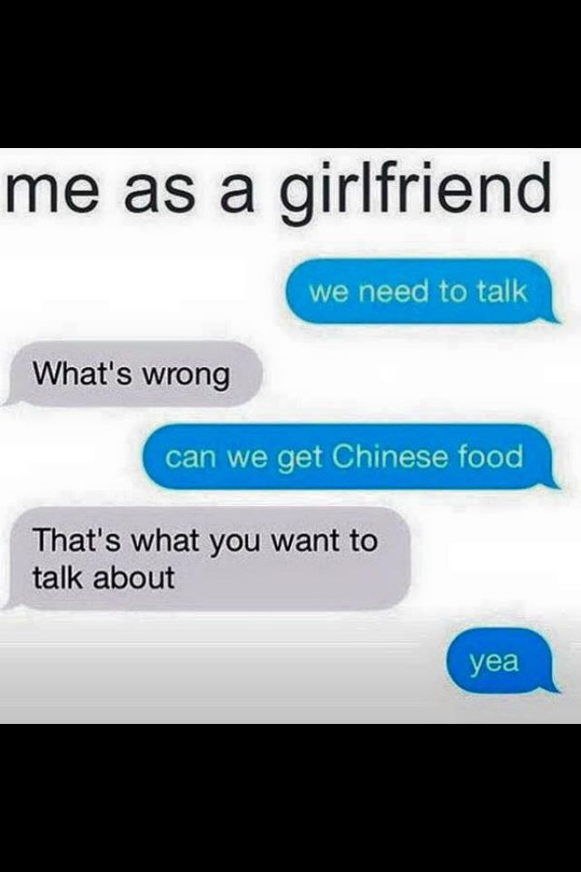 Me as a girlfriend true LOL