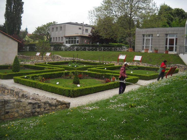 Intrarea în muzeul în aer liber de la Petronell-Carnuntum
