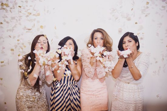 Bridal shower inspiration by A Style Collective via Somewhere Splendid. Photography by Christa Elyce Photography.