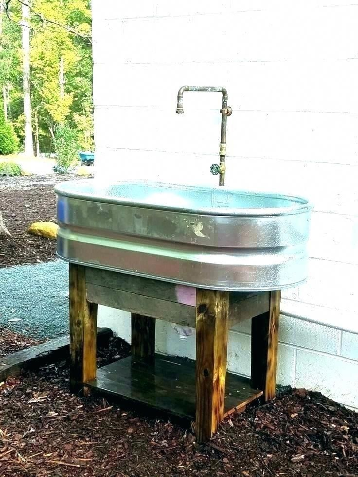 Garden Hose Sink Outdoor Sink Faucet Outdoor Sink Outside Faucet Best Sinks Ideas On Kitchens For Stock Tank Garden Outdoor Sinks Garden Sink Laundry Room Diy