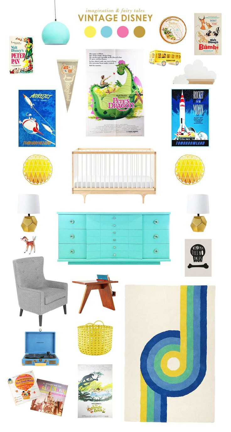 disney baby nursery ideas