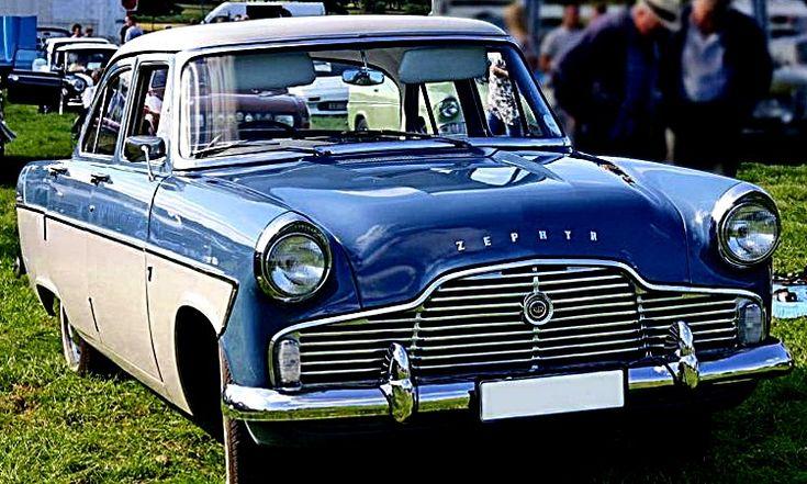 Ford Zephyr g2, voiture routière de 1956  La Ford Zephyr génération 2, cet ancien véhicule fut fabriqué de 1956 à 1959, cette Ford Zephyr de 1956 mesure 1.75 mètres de large, 4.53 mètres de long, et a un empattement de 2.72 mètres.