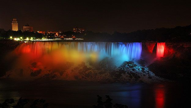 See Niagra Falls