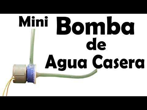 Mini Bomba De Agua Casera (Fácil de hacer) - YouTube