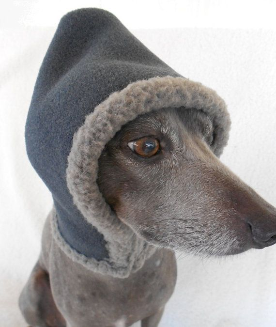 Warm Shearling Fleece Scoodie Ear Warmer for Dogs 6 by hatz4brats, $24.50... these dog accessories are theee CUTEST ones on Etsy BY FAR! By a totall landslide! Also Affordable too! LOVE EM