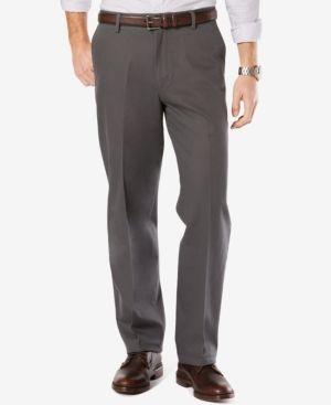 Dockers Men's Stretch Relaxed Fit Signature Khaki Pants D4 - Gray 42x32