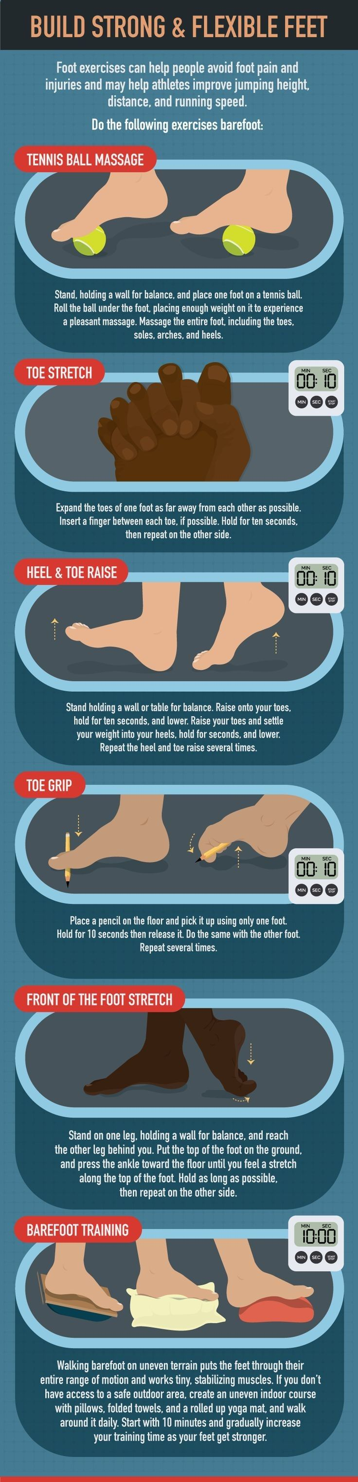 Build Strong Flexible Feet - How to Treat Your Feet