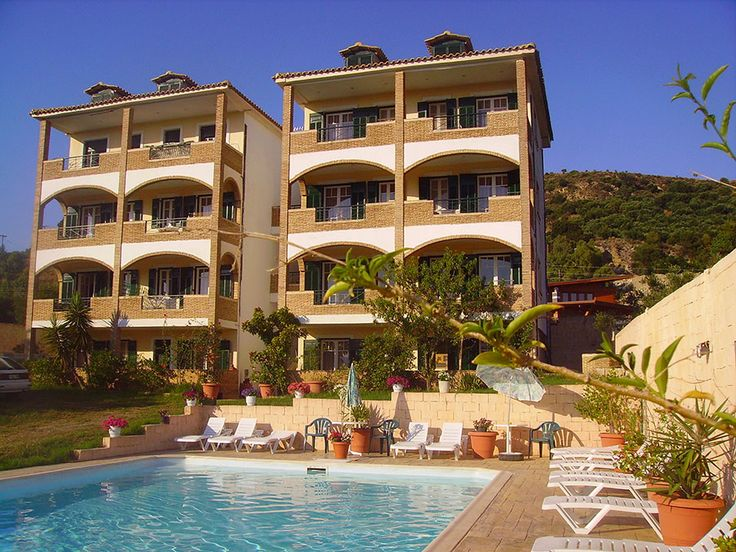 #Realestate #Hotel  The #Zakinthos Hotel located in a quiet and scenic area on the outskirts of popular beach. Set in its own private gardens, these #studios and apartments are the ideal place for a relaxing getaway.  http://www.rondyakrealestate.com/en/normal/139/propertydetails_en.aspx