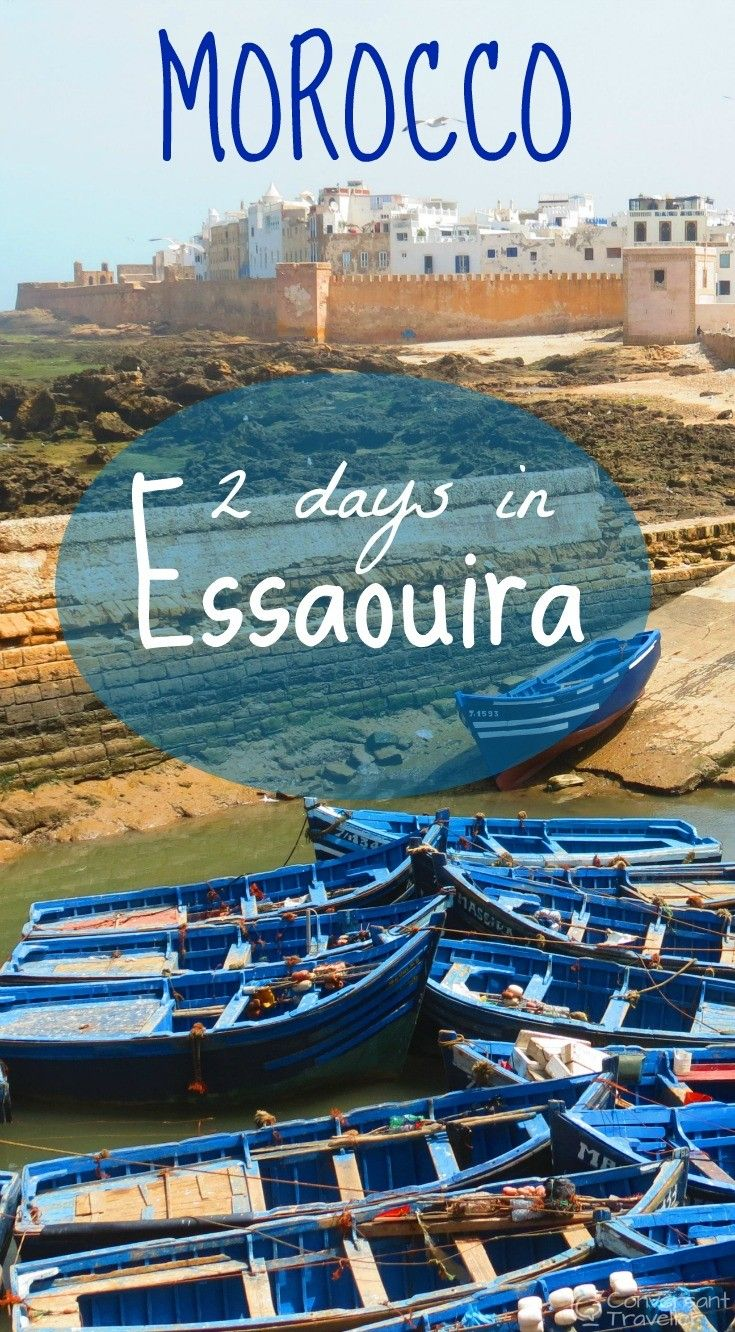 How to spend 2 days in the colourful coastal town of Essaouira