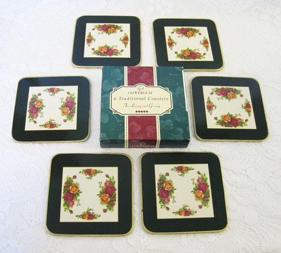 Boxed Made In England Vintage Royal Albert Old Country Roses Photo Frame