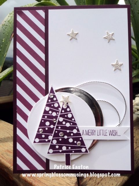 Stampin' Up! Festival of Trees | Just Add Ink #288 | Christmas | Spring Blossom Musings #stampinup #festivaloftrees #christmas #springblossommusings