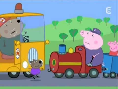 Peppa pig français Le petit train de papa pig - YouTube
