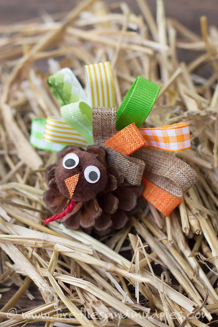 Pinecone Turkey in the Straw! | Fireflies and Mud Pies