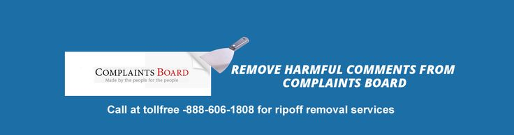 One of best ripoff assistance for delete ripoff permanently. call to assistance at tollfree-1888-606-1808