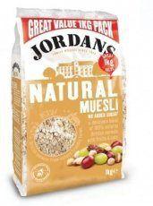 Jordans Natural Muesli 1000g - http://sleepychef.com/jordans-natural-muesli-1000g/