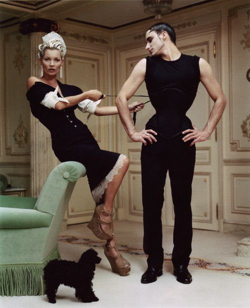 Kate Moss photographed by Tim Walker for VOGUE US at The RItz Paris