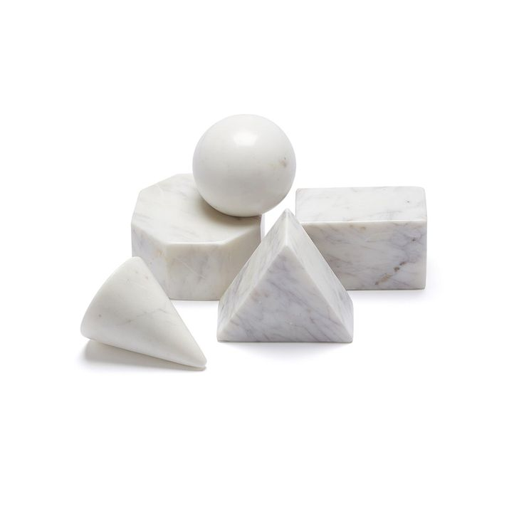 Marble Basics QUINTESSENTIAL SHAPE SET