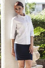 PAGAMENTO ANCHE ALLA CONSEGNA Camicia da Lavoro Donna Manica Reception Albergo Hostess Abbigliamento Abiti