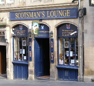 Best of Edinburgh Pubs - Scotsman's Lounge 73 Cockburn Street Edinburgh