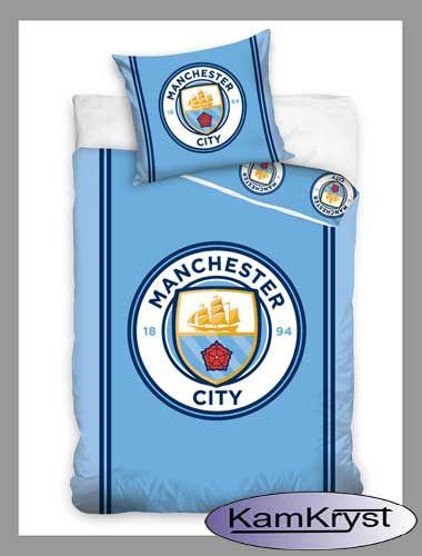 Pościel Manchester City - najnowsza kolekcja pościeli klubowych