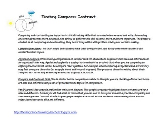 Essay compare and contrast web and library