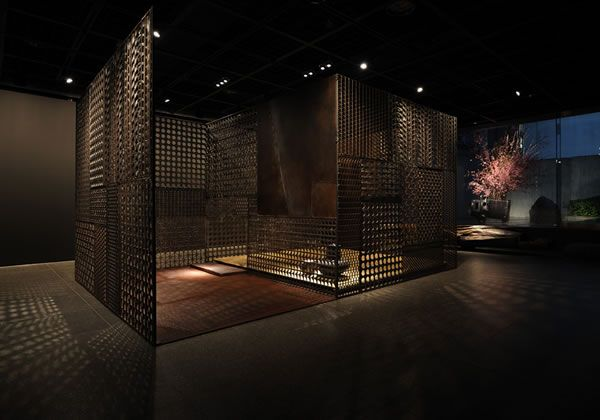 Iron Tea Room designed by TAKASHI SUGIMOTO DESIGN, Japan
