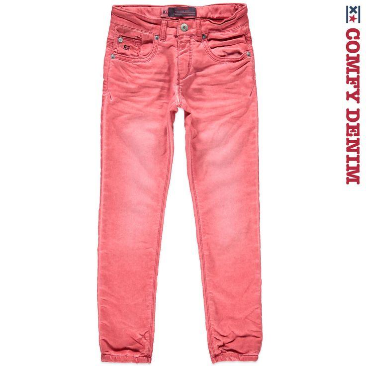 Boys gekleurde jeans - GROOVE 6132026 CRIMSON