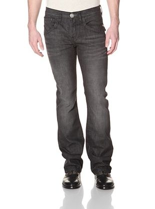 MEK Denim Men's Harrison Slim Boot Cut Jean