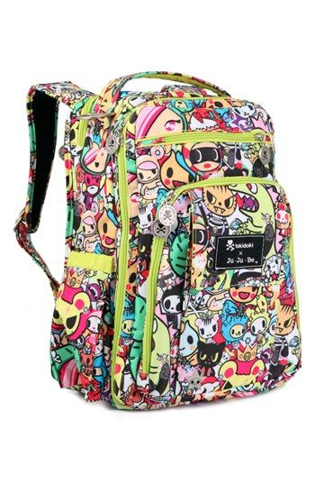 tokidoki x Ju-Ju-Be 'Be Right Back' Diaper Backpack available at #Nordstrom OMG this is cool