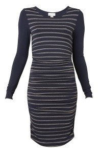 Long Sleeve Rouched Dress