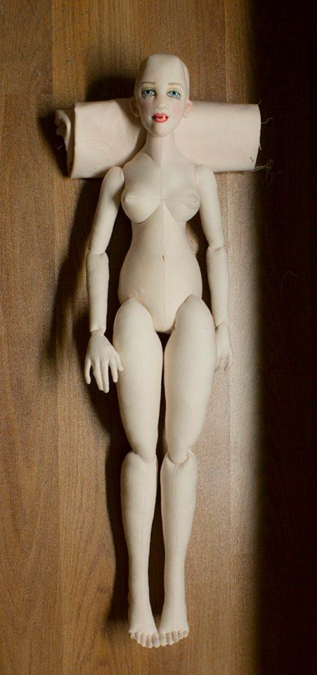 One of Gayle Wray's dolls