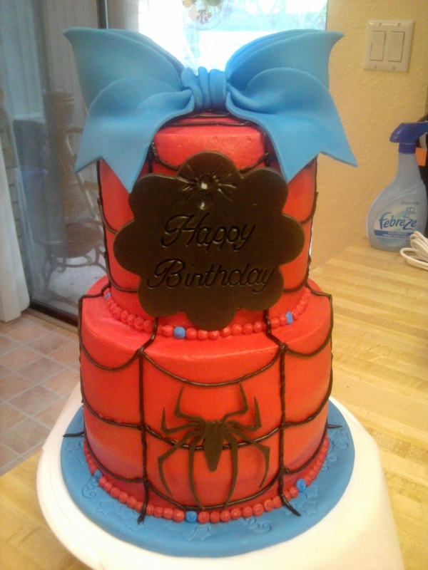 Spiderman for a Girl... anybody want to make this for my birthday?