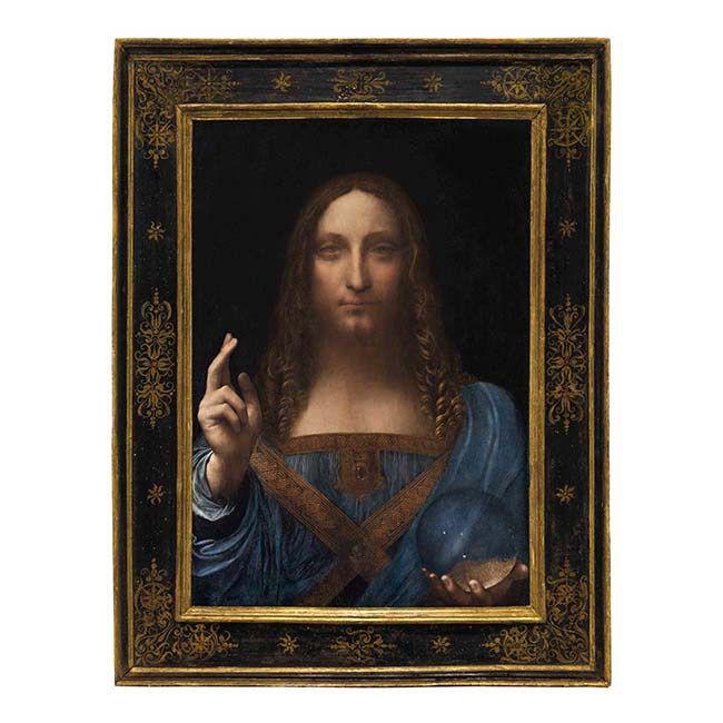 #SalvatorMundi by Leonardo da Vinci (1452-1519)