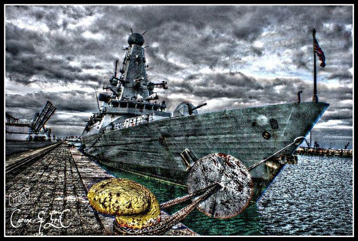 Cherbourg en cotentin...cité de la mer...HMS DIAMOND by ERIC VILLEY-et-Carine...ARTISTE PHOTOGRAPHE