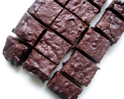 cacao nib brownies, I halved the recipe so I wouldn't be tempted to eat too many. These were seriously so good.