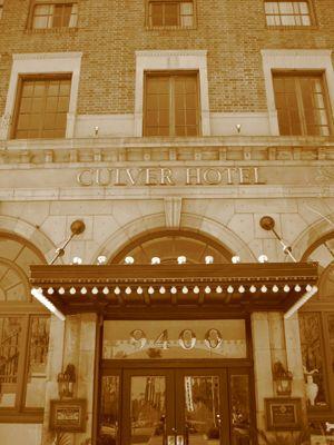 Historic Culver City CA Hotel