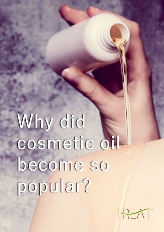Over the past year, it seems like every beauty brand under the sun has launched a face oil. Even though oil-centric cosmetic products are all over the place these days, many of us would rather go bare, than put oil on our skin. For some of us, just the thought of oil seems enough to make us run for the hills... Read more http://treatment.no/why_cosmetic_oil.html
