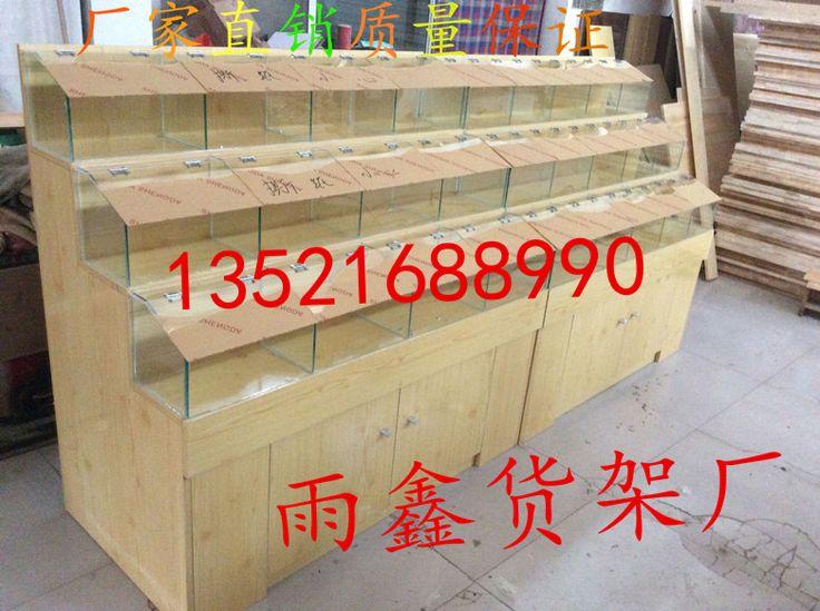Fruits secs bonbons affichage armoire étagères grains marchandises sèches étagères bois étagères étagère étagères de bonbons en vrac