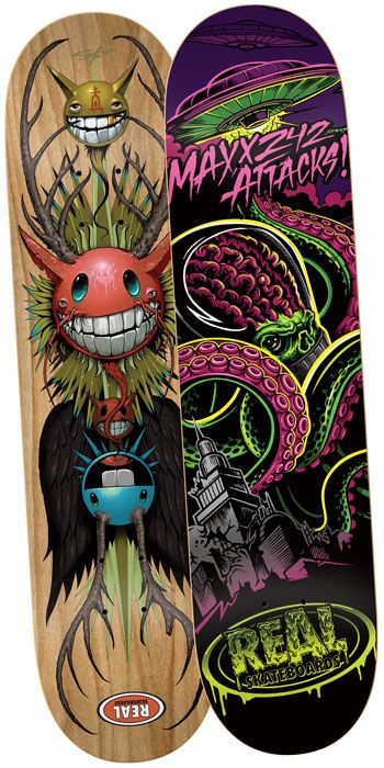 Jeff Soto & REAL Skateboards Limited Edition Skate Decks