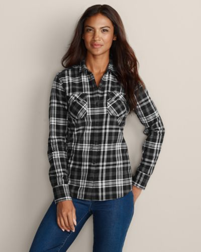 Women's Stine's Favorite Flannel Shirt | Eddie Bauer