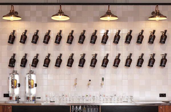 HOPPA! craft beer bar at Odeon, Amsterdam
