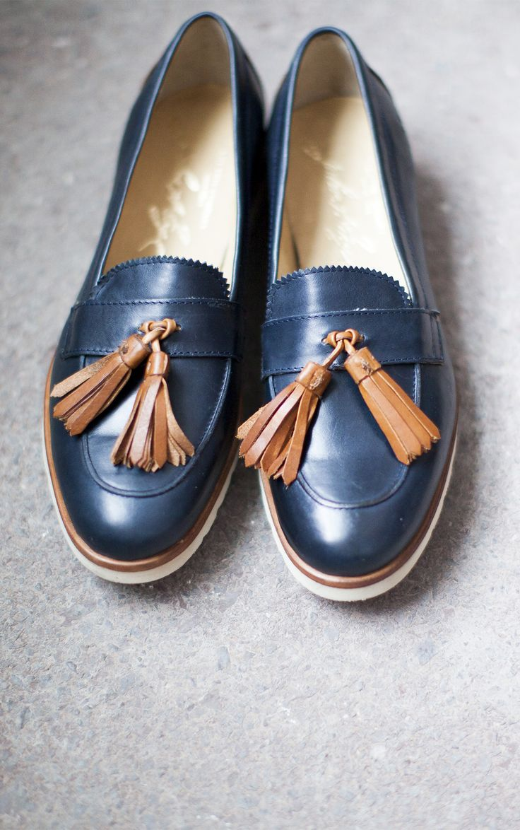 The Frye Company's Jade Tasseled Loafer; style stolen from the boys! Available at www.thefryecompany.com #frye #thefryecompany #loafers