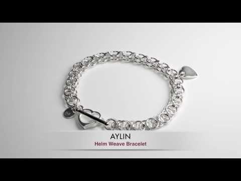 Aylin – Helm Weave Bracelet