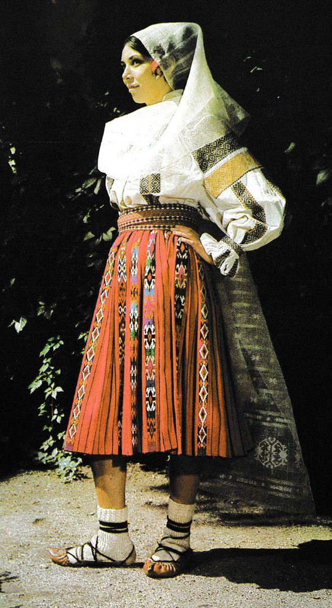 Румыния. Из сокровищницы традиционного народного костюма