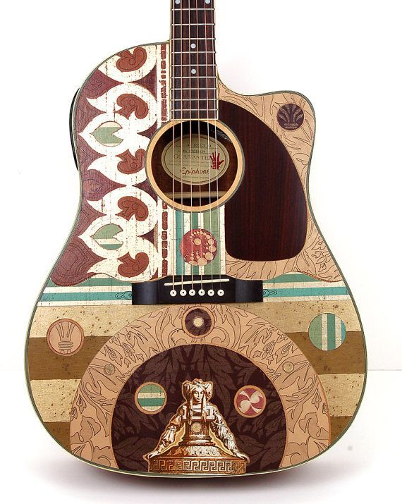 17 Best Images About Beautiful Acoustic Guitars On